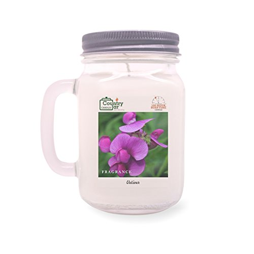 Country Jar Sweet Pea Soy Candle (14.5 oz. Mason Jar) Spring Pick-3 Sale! See Details. ()