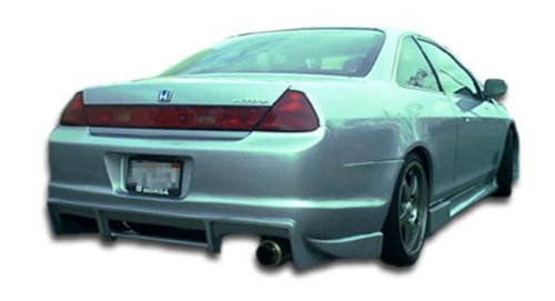 Duraflex ED-GXO-011 R33 Rear Bumper Cover - 1 Piece Body Kit - Compatible For Honda Accord 1998-2002 ()