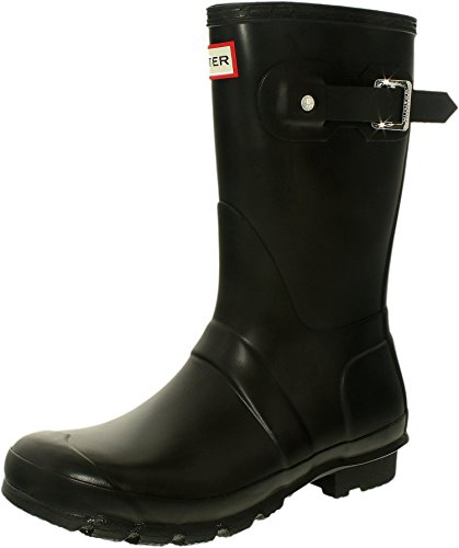 al Short Black Matte Rain Boot - 8 B(M) US (Waterproof Comfort Core)