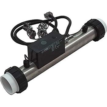 InLine Plg #PH101-15UV PH101-15UV Vac 115v 1.5kW 3ft Crd Hydro-Quip Bath Heater