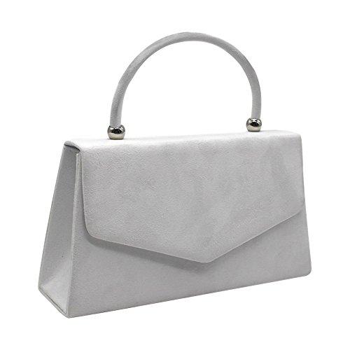 Bag Prom Wocharm Clutch Brand Suede 2 velvet Luxury Party Ladies Pleated New Womens Evening Bridal Handbag White SzxnOqSTw