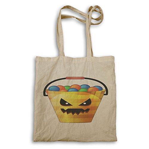 Tote Bag Art Halloween Retro Q323r