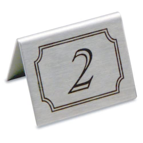 Restaurant Table Numbers Amazoncouk - Restaurant table number signs