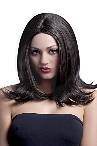 Fever Women's Long Layered Brown Wig with Centre Part, 17inch, One Size, Sophia,5020570425077]()