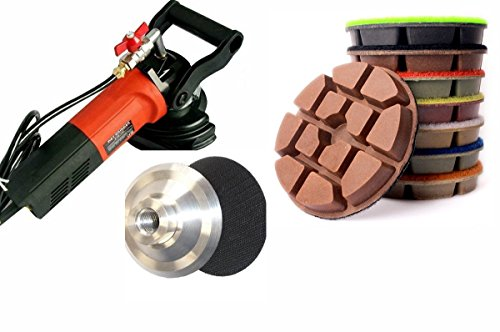 Wet Polisher Grinder 8 X Diamond 10mm Thickness 4