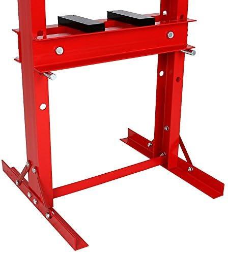 Wimmer Werkstattpresse Mit Eingebaute Handpumpe Und Mit Manometer 20 T Sp20 1 Auto