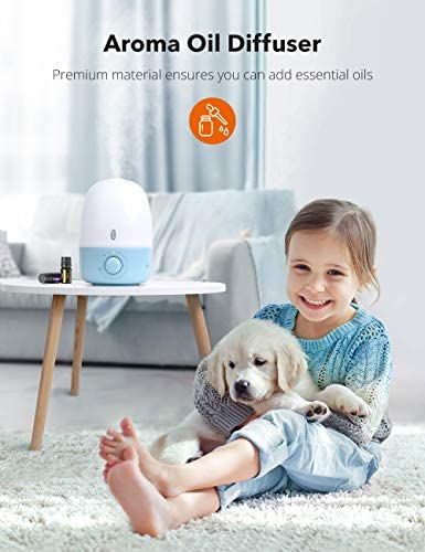 41XOYn5SUhL. AC - Humidifiers For Babies, TaoTronics 3-IN-1 Humidifier With Essential Oil Diffuser And Night Light, 2.5L Cool Mist Humidifier For Bedroom, BPA-Free, 26dB Whisper Quiet, Easy To Clean