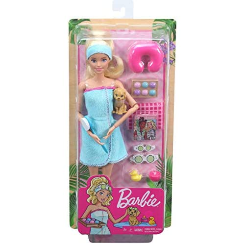 Barbie Spa Doll Blonde With Puppy And Tiendamia Com