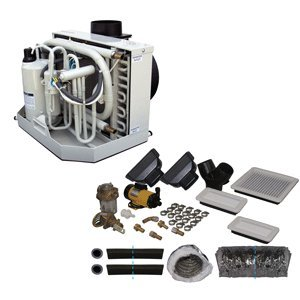 Webasto 5011410A FCF16000 Air Conditioning & Heat Kit with Control Panel & Electrical Control Box