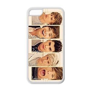 Customize One Direction Zayn Malik Liam Payn Niall Horan Louis Tomlinson Harry Styles Case for iphone5C JN5C-1459