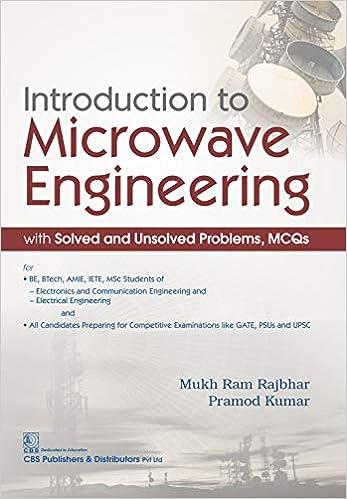 Microwave Engineering Ebook