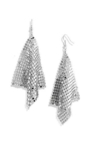 Beaute Galleria Silver Lightweight Earrings