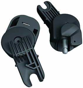 Recaro 595001000 - Adaptador Baby Jogger City Micro, Mini, Classic, Elite, Summit Young Profi Plus (color negro)