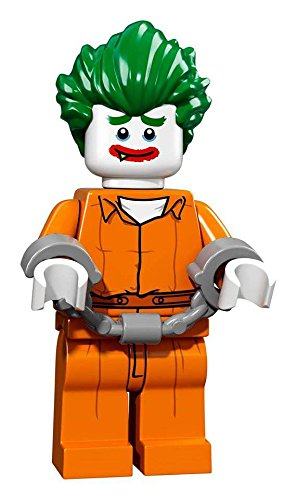 DC LEGO Batman Movie The Joker Minifigure [Arkham Prison Jumpsuit]