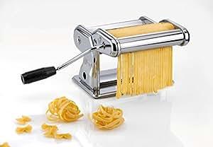 Gefu Profi-Pasta Machine Pasta Perfetta Brillante, for the Kitchen, with Table Clamp, 28240