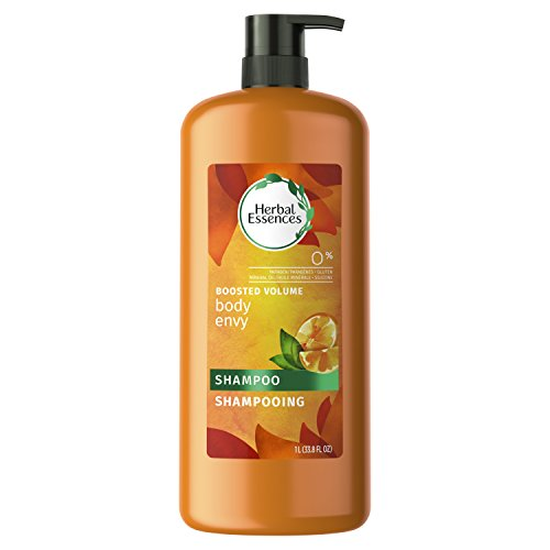 Herbal Essences Body Envy Volumizing Shampoo with Citrus Essences, 33.8 fl oz(Packaging May Vary)