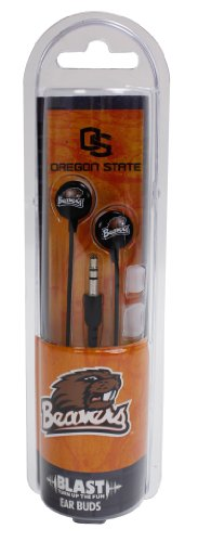 US Digital NCAA Oregon State Beavers Blast Earbud Headphones by US Digital