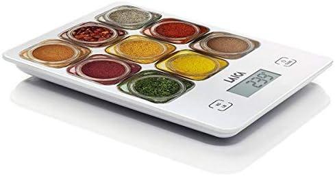 Eurroweb - Báscula de cocina digital con pantalla LCD