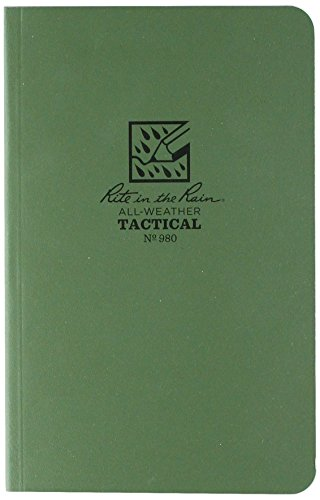 Rite in the Rain All-Weather Tactical Field Notebook, 4 5/8