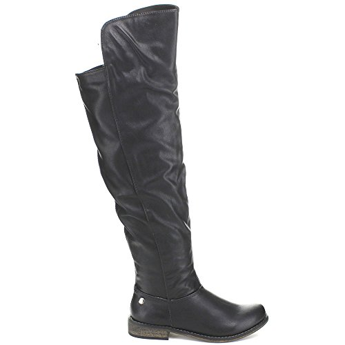 Boots Womens Tenesee Breckelles Riding Black 17 wOHwpqZ