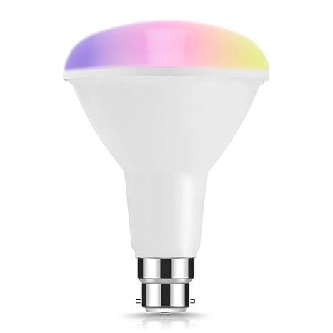 Bombilla LED LOHAS WIFI R95 B22 Smart, Controlado de Forma Remota por LOHAS SMART APP y ...