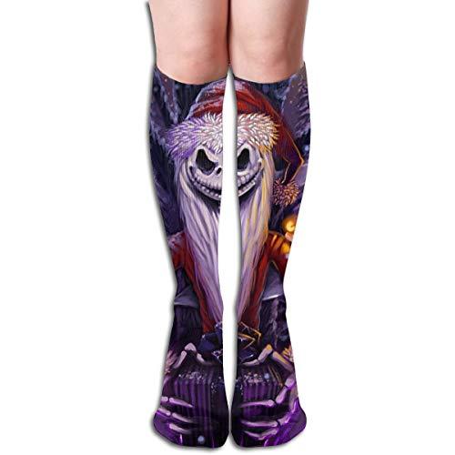 JINUNNU Knee High Socks Nightmare Before Christmas Cool Boot Socks for Girl -
