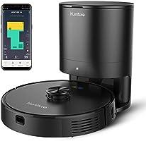 Honiture Q6 ロボット掃除機 自動ゴミ収集 Wi-fi接続 アプリ対応 3D LiD ARSLAM技術 自動充電・運転再開 スマートマッピング 「進入禁止エリア」設定可能 2700pa 5200mAh 水タンク付き 掃除モップ両用...