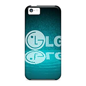 Cynthaskey Iphone 5c Well-designed Hard Case Cover Lg Hd Mirror Protector