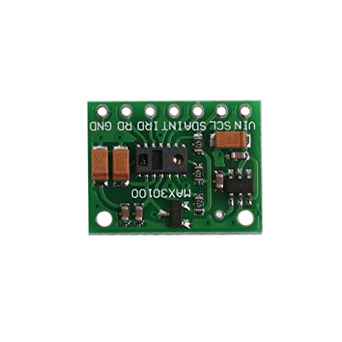 Heart Rate Receiver Module - Bettal MAX30100 Heart Rate Pulse Oximetry Sensor Module for Arduino Medical Monitoring