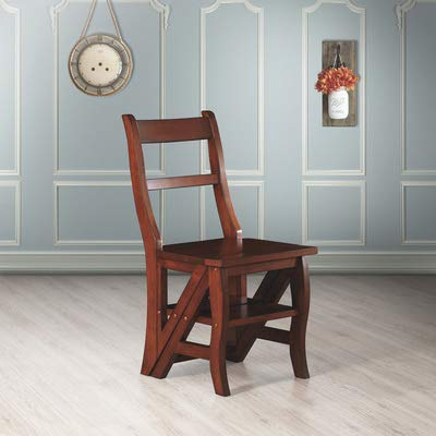 Carolina Cottage Chestnut Finish - Franklin Chair/Ladder