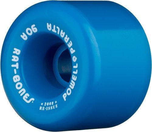 "Powell-Peralta ""Rat Bones 60mm 90A Blue Skateboard Wheels (Set of 4)"