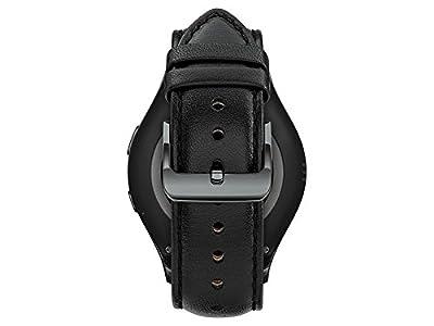 """Samsung Gear S2 Classic Wi-Fi + 3G Verizon Wireless Smartwatch w/ 1.2"""" Display - Black Leather (Certified Refurbished)"""