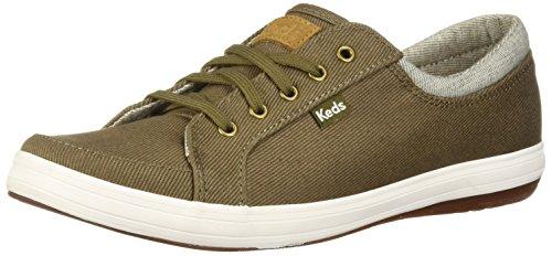 Keds Women's Vollie Ii Heavy Twill Sneaker Olive
