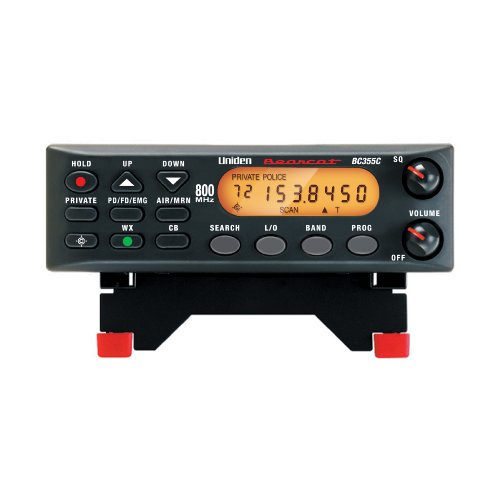 "Uniden BC355N 800 MHz 300-Channel Base/Mobile Scanner, Close Call RF Capture, Pre-programmed Search ""Action"" Bands to Hear Police, Ambulance, Fire, Amateur Radio, Public Utilities, Weather, and More"