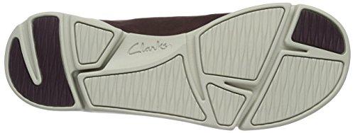 Clarks Sneakers Nubuck Aubergine Abby Donna Tri Viola U0wrqU1