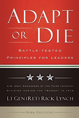 Adapt or die leadership principles from an american general adapt or die leadership principles from an american general by lynch lt gen fandeluxe Images