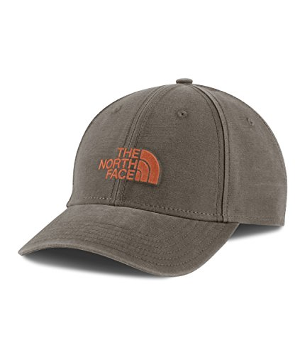 The North Face 66 Classic Hat - Weimaraner Brown/Weathered Orange - One Size (Hat Weimaraner)