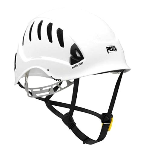 Petzl ALVEO VENT ANSI helmet White A20VWA with a FREE drawstring storage bag by Petzl