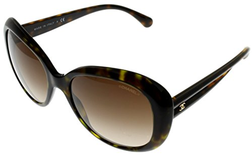Chanel Sunglasses Womens Havana Round CH5312 714/S5