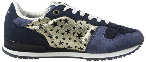 Navy Damen Gable Jeans Blau Galactic Sneaker Pepe London S6nx6a