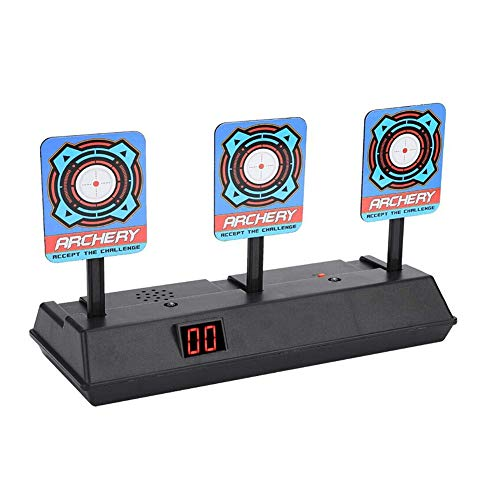 Christmas Best Gift!!!Kacowpper Auto-Reset Intelligent Light Sound Effect Scoring Targets Toys