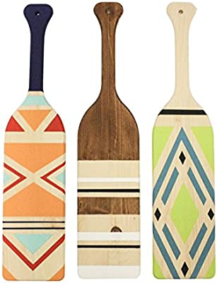 4 Pack Walnut Hollow Unfinished Pine Wood Paddles for Arts Sorority Fraternity /& Home Decorating Crafts