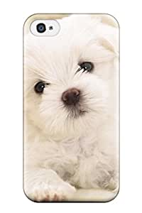 Iphone 4/4s Case, Premium Protective Case With Awesome Look - Cute And Adorable Puppy Pictures
