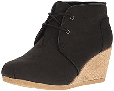 Amazon.com | BOBS from Skechers Women's High Notes Wedge Boot ...