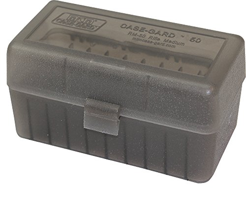MTM 50 Round Flip-Top Rifle Ammo Box 220 Swift 243 308 Win ()