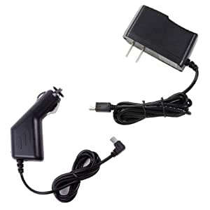2a car auto charger ac dc wall power adapter for garmin gps nuvi 3597 lm t hd. Black Bedroom Furniture Sets. Home Design Ideas
