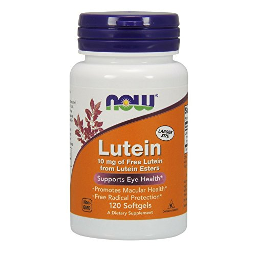 NOW Foods Lutein Softgels 120