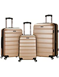 Luggage Melbourne 3 Piece Set, Champagne, One Size