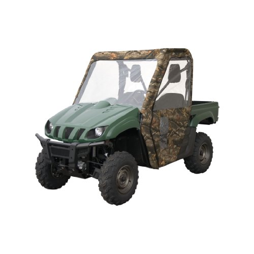 Classic Accessories 18-024-011201-00-SC Quadgear Extreme Realtree Hardwoods UTV Cab Enclosure for Polaris Ranger XP/HD by Classic Accessories