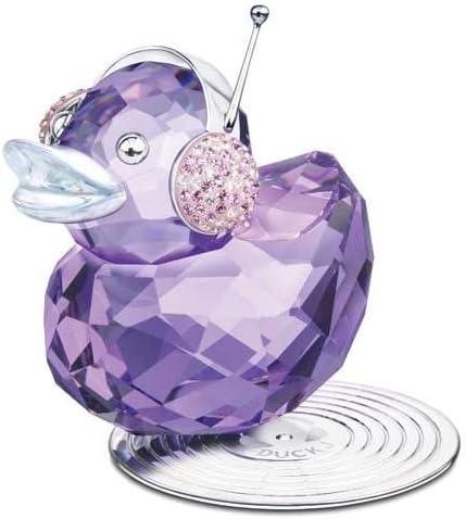 Swarovski Color Crystal Figurines HAPPY DUCKS DUCK J 1049592